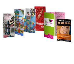ff2800db5c Trípticos y Dípticos - Ideas Pampa Publicidad